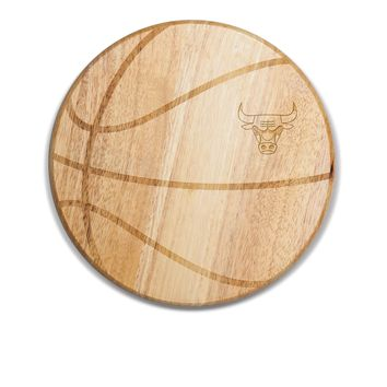 Chicago Bulls - 'Free Throw' Basketball Cutting Board & Serving Tray by Picnic Time