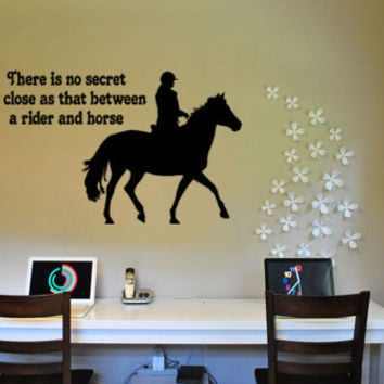 Horse decalHorse quote stickerChoose your horse by aluckyhorseshoe