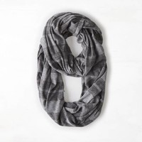 AEO SHIMMERY STRIPED LOOP SCARF