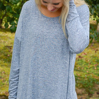 Time For Travel Tunic-Denim