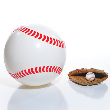 Great Big Inflatable Baseball : Giant Inflatable Baseball from GreatBigStuff.com