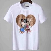 Gucci Woman Men Fashion Casual  Shirt Top Tee