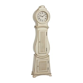 ethanallen.com - white gustavian floor clock | ethan allen | furniture | interior design