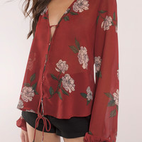 Best Bud Floral Print Top