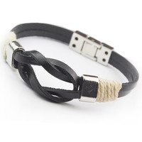 Awesome Stylish Shiny New Arrival Great Deal Hot Sale Gift Leather Men Accessory Bracelet [6526722627]