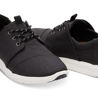 BLACK POLY WOMEN'S DEL REY SNEAKERS