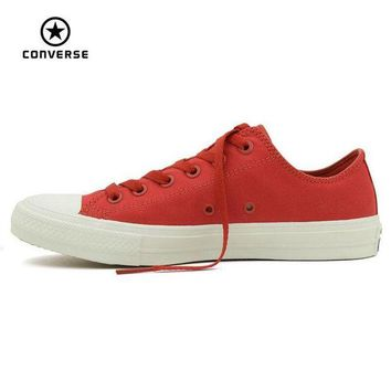 DCKL9 Converse Chuck Taylor II new All Star low men and women's sneakers canvas shoes Class