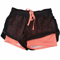 Women Fitness Running Shorts 2 In 1 Running Tights Short Women's Gym Cool Sport Short