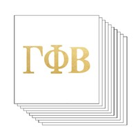 Gamma Phi Beta Letters (10 Pack) Gold