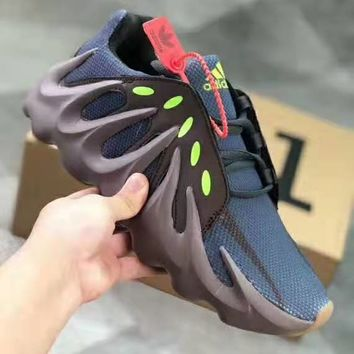ADIDAS YEEZY 451 mesh breathable sports non-slip shock absorbing sports shoes