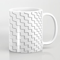 speckled zigzag Mug by RichCaspian