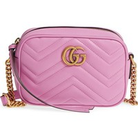 Gucci GG Marmont 2.0 Matelassé Leather Camera Bag | Nordstrom