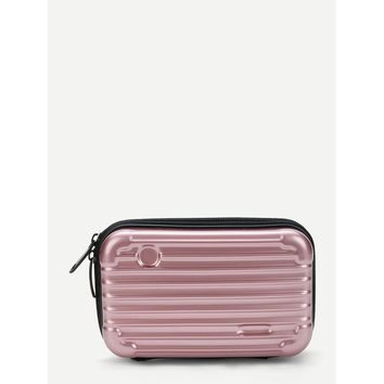 Mini Luggage Case Makeup Bag
