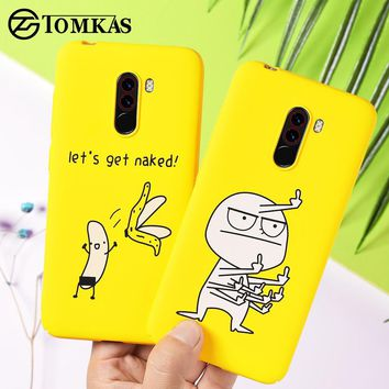 Funny Banana Bad Boy Cellphone Case for Pocophone