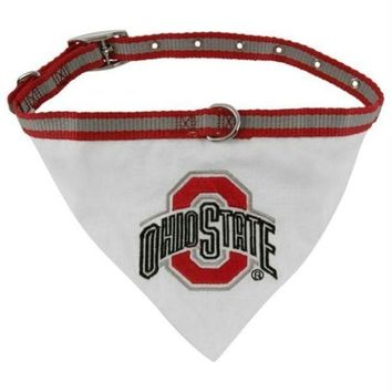 ESBONI Ohio State Dog Collar Bandana
