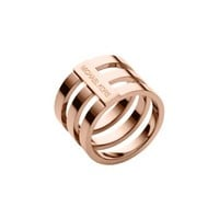 Rose Gold-Tone Tri-Stack Ring | Michael Kors