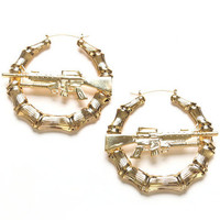 M16 DOORKNOCKER EARRINGS