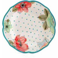 The Pioneer Woman Vintage Bloom Decorated Dinner Plate - Walmart.com