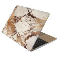 Marble Case for MACBOOK AIR & MACBOOK PRO (Gold Marble)