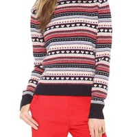 CARDIGAN by Lynne Hiriak Lolita Fair Isle Sweater | SHOPBOP
