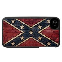 Cool Grunge Southern Confederate Flag Iphone 4 Case from Zazzle.com