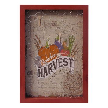 SONOMA life + style Harvest Chicken Wire Clip Wall Decor
