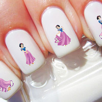 Snow White Disney Nail Decals, Nail Sticker, Water Sliders, Nail Stickers, Nail Art