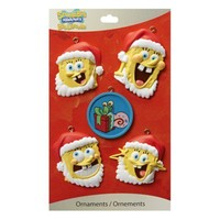 SpongeBob Ornament Minis - 5 Pack