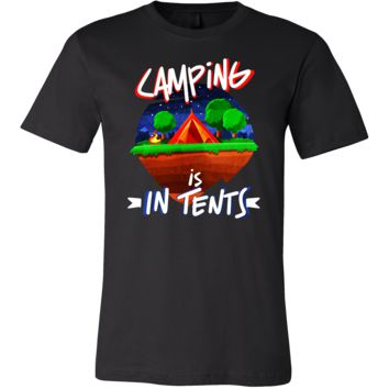 Cool Camping Is In Tents Campers, Holiday Vacation T Shirt