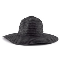 Straw Hat - from H&M