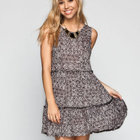 Element Lillo Dress Black  In Sizes