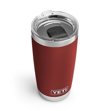 20 oz. DuraCoat Rambler Tumbler in Brick Red with Magslider™ Lid by YETI