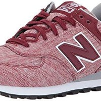 New Balance Men's 574V1 Textile Sneaker