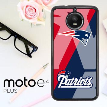 New England Patriots X3301 Motorola Moto E4 Plus Case