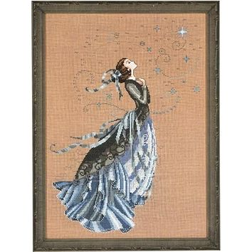 Top Quality Beautiful Lovely Counted Cross Stitch Kit Nora Corbett Fairy Angel Goddess Pray MD88 MD 88