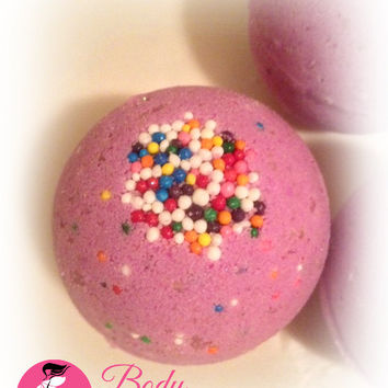 Bombs Away - Purple Bath Bomb Fizzy with Lavender Essential Oil Bath Soak