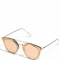 Mirrored Retro Sunglasses