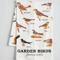 Bird Bird Swatching Tea Towel by ModCloth
