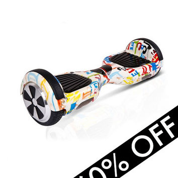 Spray Paint Hoverboard