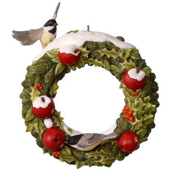 Marjolein's Garden Welcoming Wreath Ornament
