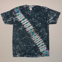 Tie Dye Stripe Shirt - Choose Any Size (Adults, Kids, & Toddlers) Style Shirt, and Colors