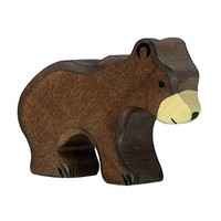 Holztiger Little Brown Bear Toy Figure