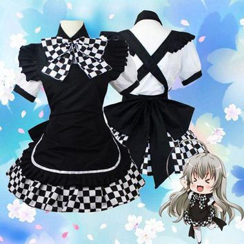 LMFON nyarukosan cosplay costume battle dress adult Maid costumes women Japanese anime clothes fanycy dress
