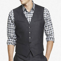 END-ON-END SUIT VEST from EXPRESS