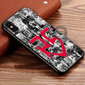 R5 Band Collage iPhone X 8 7 Plus 6s Cases Samsung Galaxy S8 Plus S7 edge NOTE 8 Covers #iphoneX #SamsungS8