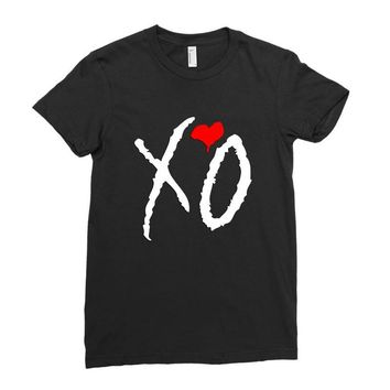 weeknd (3) Ladies Fitted T-Shirt