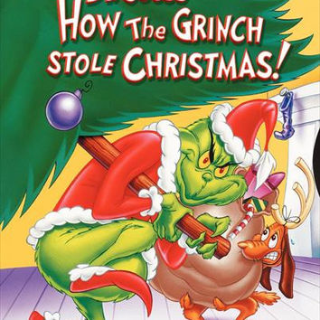 How the Grinch Stole Christmas 27x40 Movie Poster (1966)