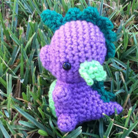 Spike My Little Pony crocheted