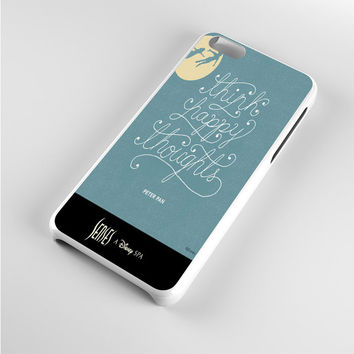 Peter Pan Quotes Happy iPhone 5c Case