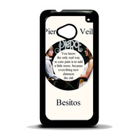 Pierce The Veil Song Lyrics Band HTC One M7 Case